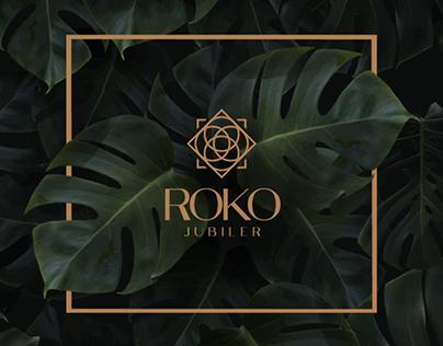 2d animation of logo Roko