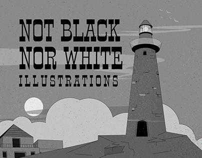 NoT Black NoR White Illustration