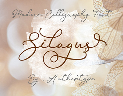 Free Download Silagus Modern Calligraphy