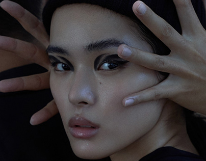 Landing page for Korean Cosmetics