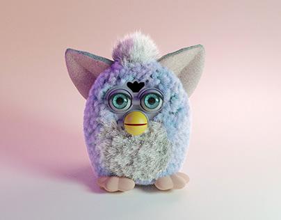 »Furby« 3d-modeling