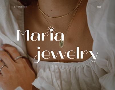 Maria Jewelry — Website
