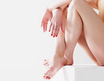 Perfect ballet legs
