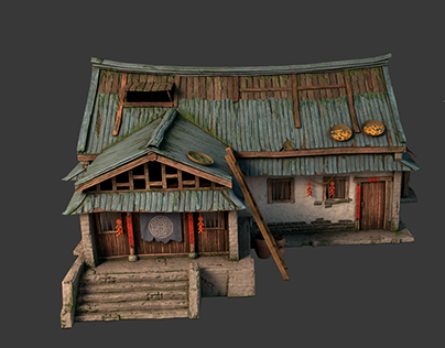 Old chinese house PBR 2018