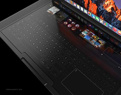 Macbook Pro Touch 2018 Concept