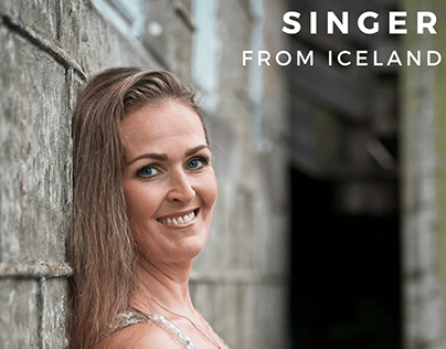 The beautiful singer from Iceland