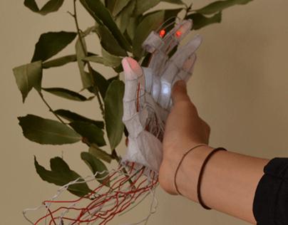 Daphne Automata II - interactive sculpture