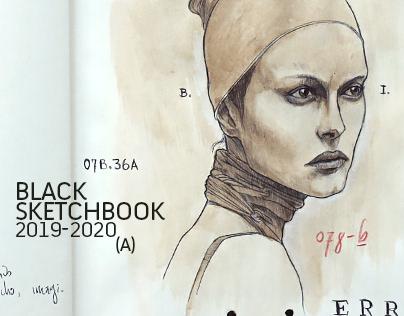 BLACK SKETCHBOOK 2019-2020