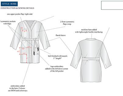 Unisex ROBE tech pack