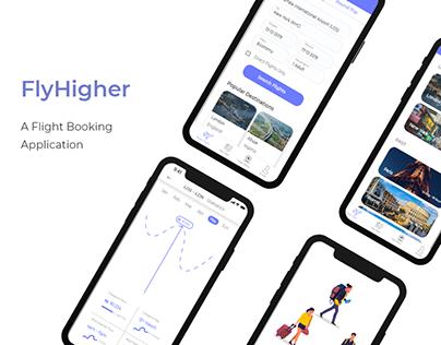 Fly Higher - A flight App case study