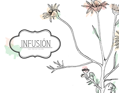 Infusión: hierbas frescas
