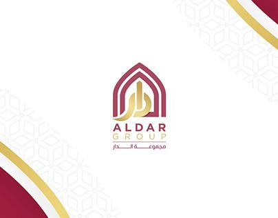 تصميم شعار + هوية | مجموعة الدار