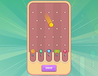 Coin Drop - One More Time Mini Game