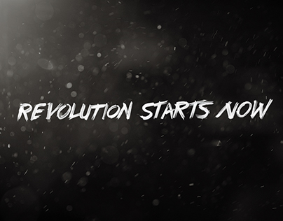 "Epitome Campaign ""Revolution Starts Now"""