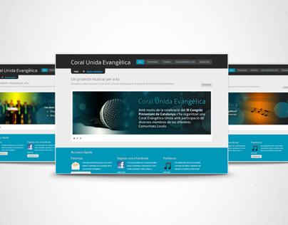 Coral Unida Website