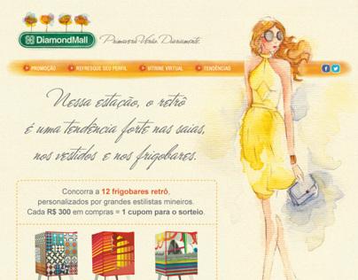 Hotsite Primavera-Verão 2013 - DiamondMall