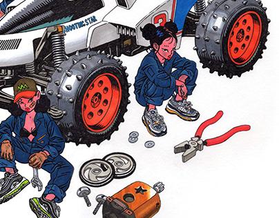 Motor mechanic [SHOOTING STAR]