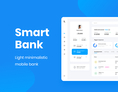 Smart Bank - Dashboard