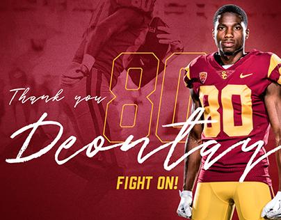 USC Football Draft Graphics