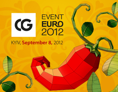CG Event Euro 2012 Conference Branding