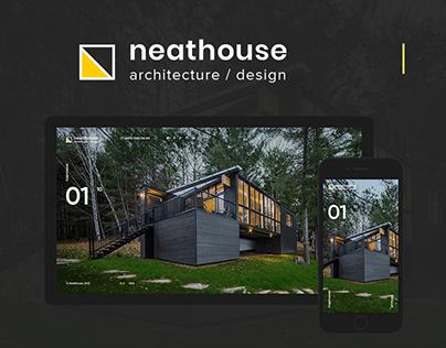 Neathouse - Construction Company Website