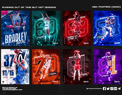 NBA Artworks : Personal Project (Volume 1)