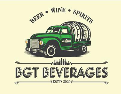 beer wine logo