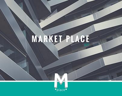 Market Place \\ Design \\ App