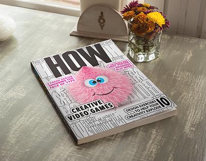 HOW magazine cover
