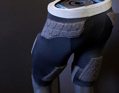 Tharros - Biometric Shorts for Injured Athletes