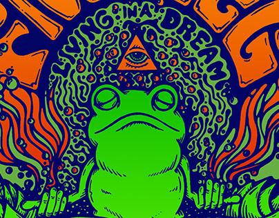 Frogleg Tour Poster