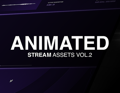 Animated stream assets