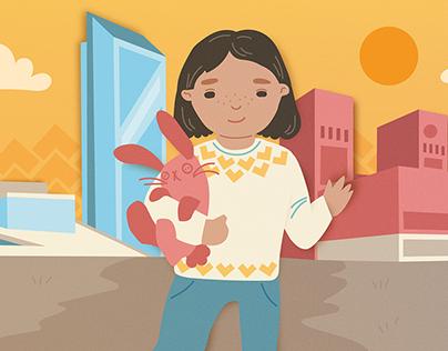 Fosterhjemstjenesten illustrasjoner til animasjonsfilm