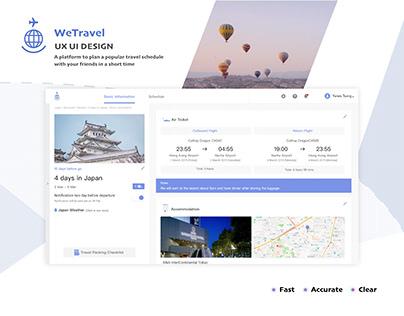 WeTravel - Self-Guided Travel Platform (UI UX Design)