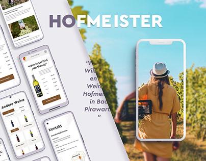 HOFMEISTER - online wine store