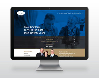 Inder Lynch Lawyers - Website design