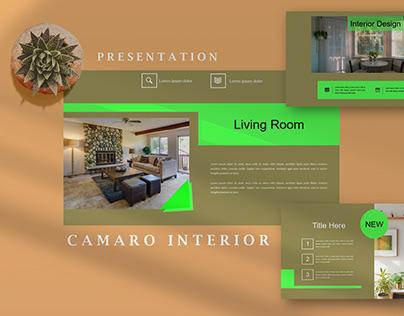 Camaro Home Interior - Keynote Template