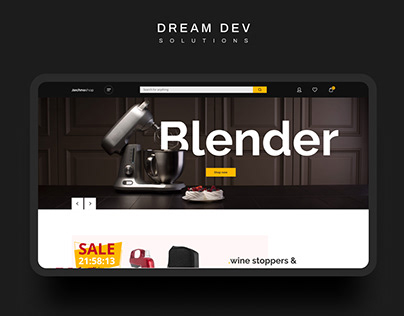 Small household appliances - Ecommerce Concept