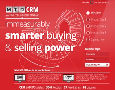 MTD CNC: CRM Interface
