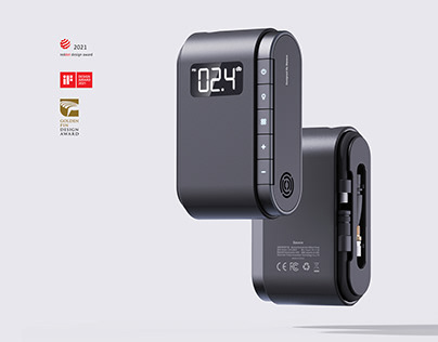Intelligent portable air pump