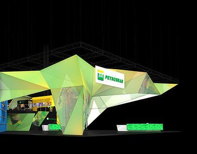 Petrobras booth at Rio, Oil & Gas Expo 2010