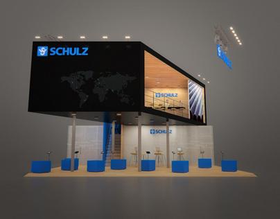 Schulz Latin America booth at Rio, Oil & Gas Expo 2010