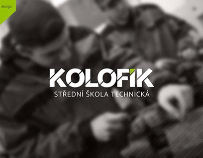 Kolofík - logo design