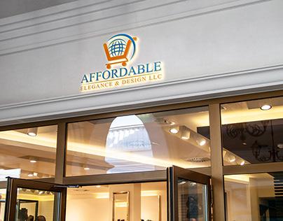 shop logo design, 3d logo mockup free download;