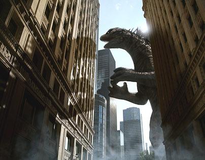 Godzilla en Chicago 2