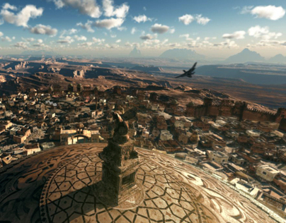 Arabian Nights (CG City/Environment) - Tech. Breakdown