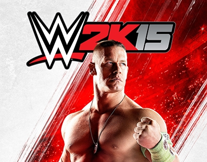 WWE 2K15 Key Art and Secondary Key Art