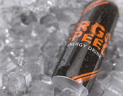 ENERGY DRINK CONCEPT RENDER