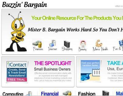 Shopping Site - Buzzin' Bargain