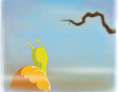 Valentino the snail